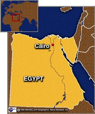 CNN Egypt Syria Demand Israels Nostrings Withdraw From - Map of egypt syria and israel