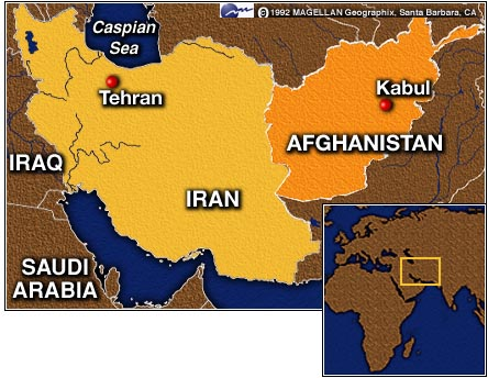 language spoken in iran and afghanistan relationship