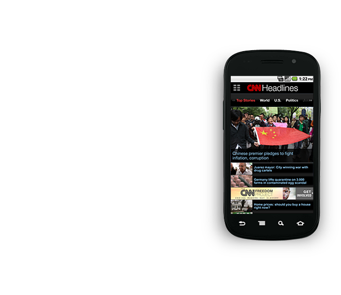 CNN App for Android Mobile