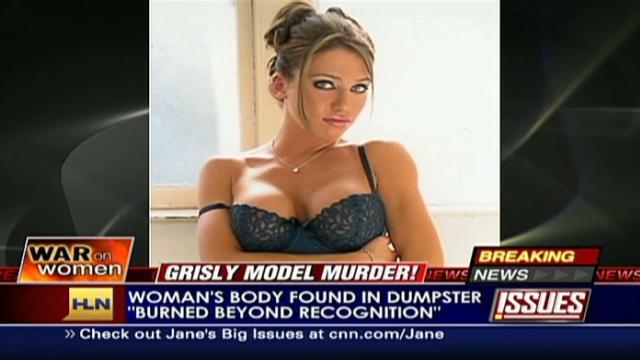 Burned body in trash identified as Playboy model - CNN com