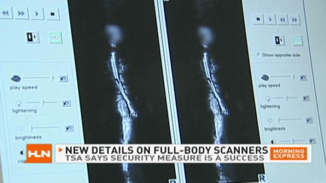 Full-body scanners improve security, TSA says - CNN com