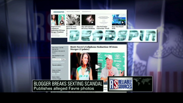 brett favre sexting pics. Blogger breaks #39;sexting#39;