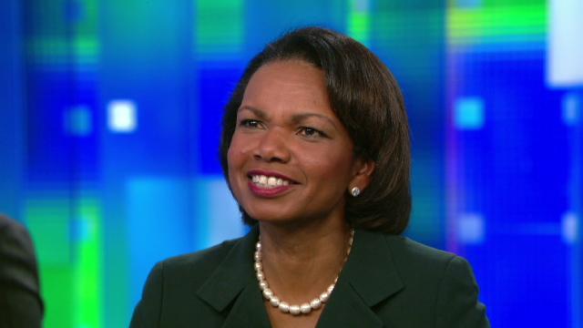 Condoleezza Rice I Cannot Imagine Myself Running For