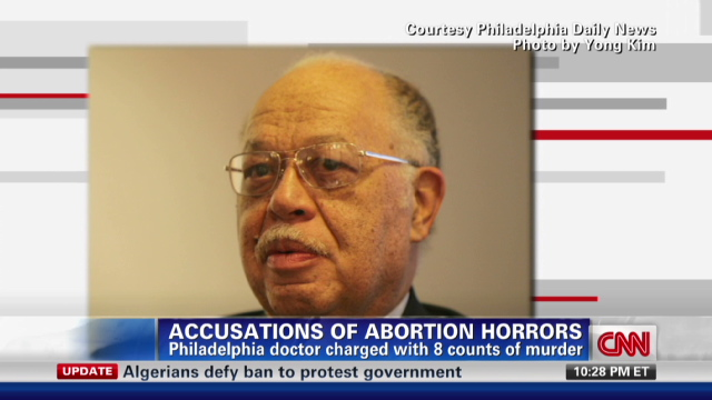 Philadelphia doctor accused of murdering patient, newborns - nr.kermit.gosnell.interview.cnn.640x360