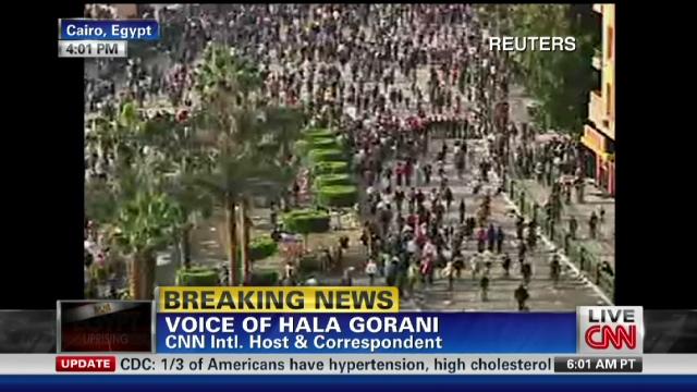Pro-Mubarak demonstrators attack journalists Exp.gorani.tahrir.square.chaos.cnn.640x360