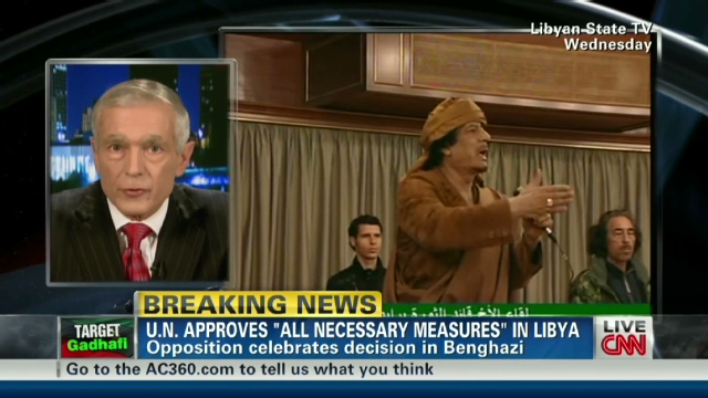 Opposition: Violence rages despite Libyan claim of cease-fire Exp.ac.clark.slippery.slope.cnn.640x360