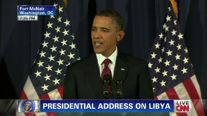 Obama: Not acting in Libya 'would have been a betrayal of who we are'