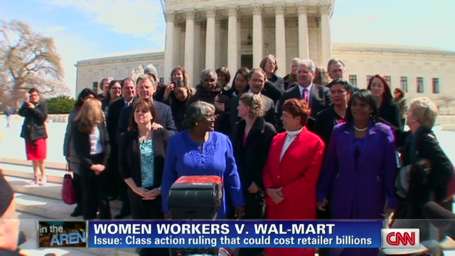 Sex discrmination wal mart law suit findings