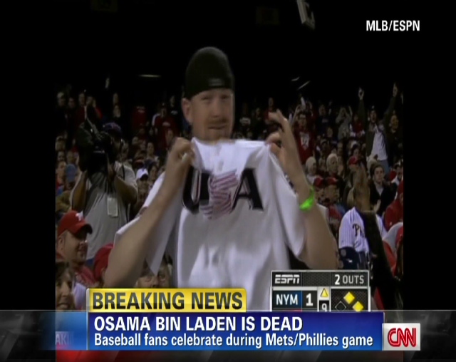 Chants of  USA  Osama Bin Laden Real Dead Body