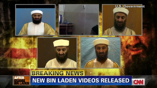 U.S. releases videos seized from bin Laden compound