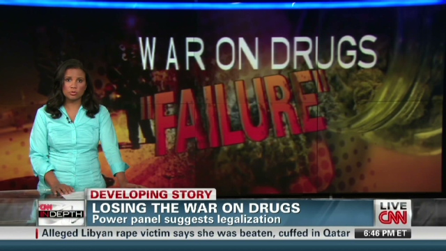 War on drugs has failed, report finds