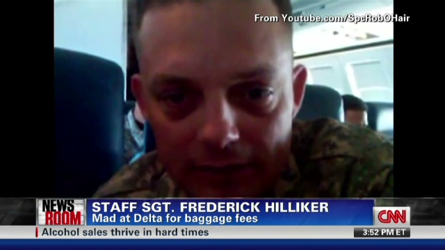 Soldiers 2800 In Bag Fees Spark Outrage Policy Changes Cnn
