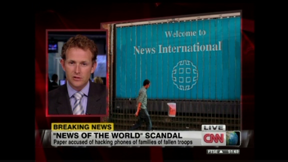 Murdoch's scandal-hit News of the World to shut down - CNN com