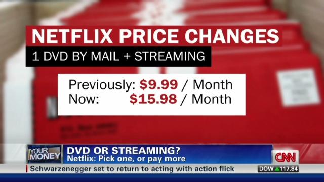 Netflix 60 Price Hike