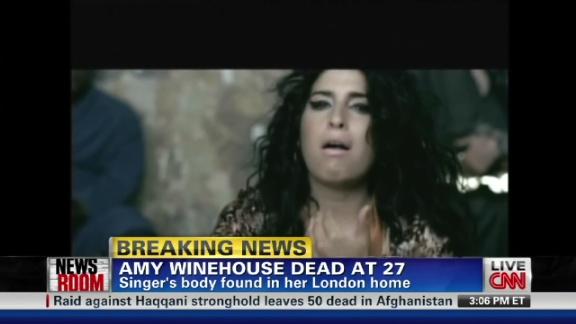 Singer Amy Winehouse found dead - CNN.com