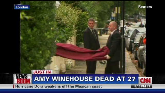 Singer Amy Winehouse Found Dead Cnn Com