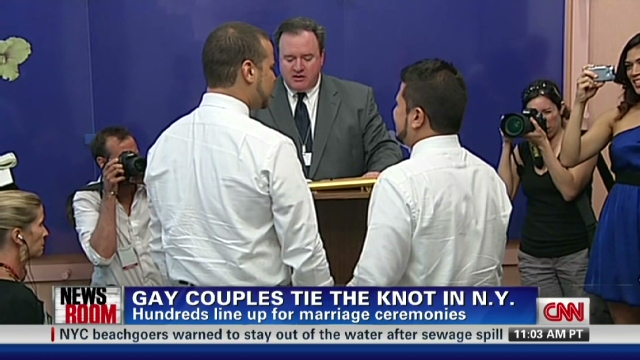Same sex marriage and new york