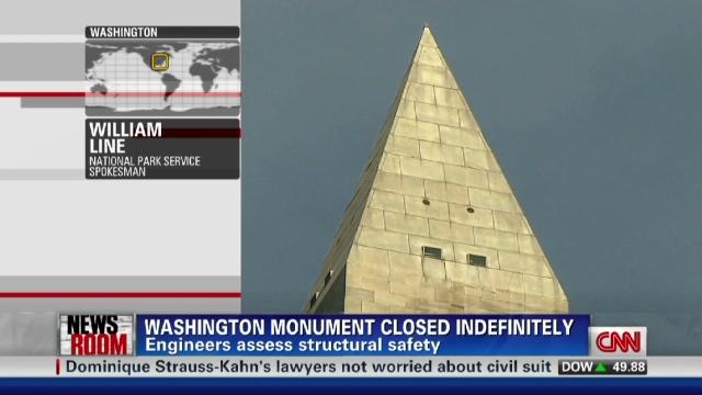 Irene Reveals More Cracks In Quake Damaged Washington