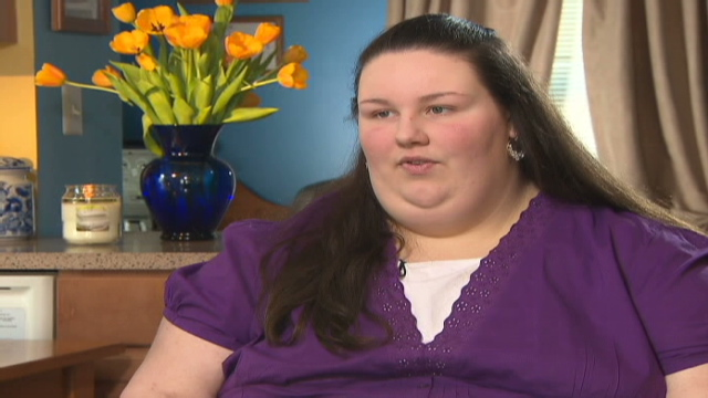 Obese Teen Credits Surgery For Weight Loss Cnn Com