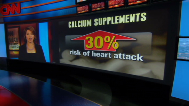 Calcium Linked To Heart Attacks