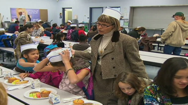 school helps students fend off bad times cnncom