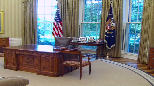 oval office photos. Video: Oval Office Gets A Makeover Photos