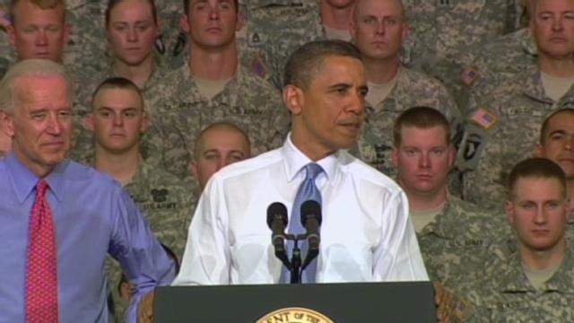 Obama meets bin Laden raiders, promises victory over al