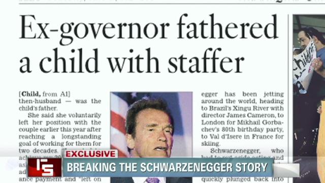 Periodismo de investigación a la vieja usanza sacó a la luz el hijo de Schwarzenegger