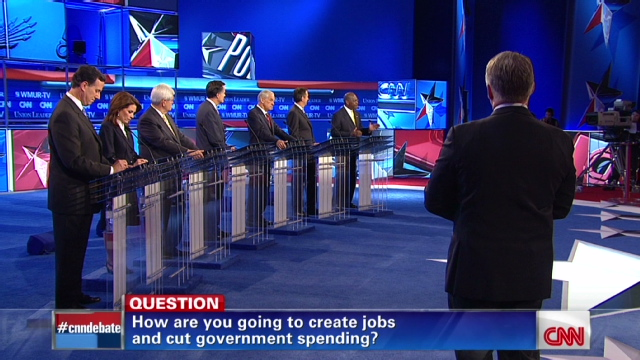 GOP presidential contenders take aim at Obama in CNN DEBATE - CNN.