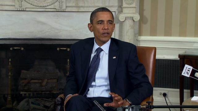 Obamas man genomsoker oslo