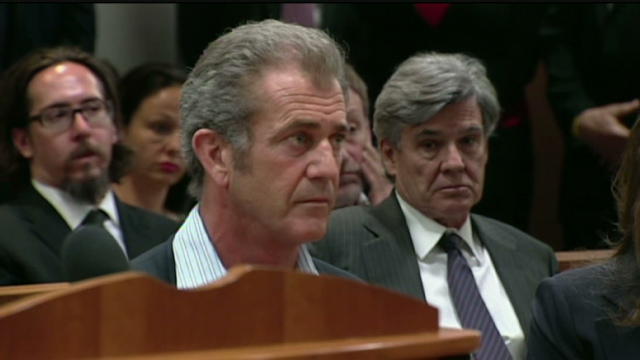 Mel Gibson charged with battery