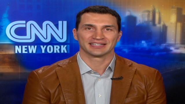 wladimir klitschko. Wladimir Klitschko tells CNN