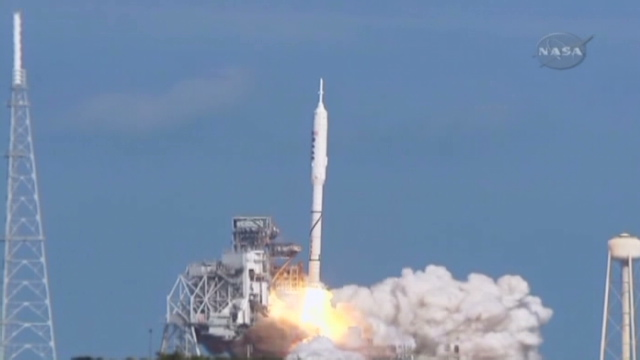 STS129 HD Launch