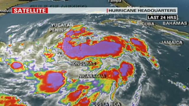 Alex re-strengthens to tropical storm.