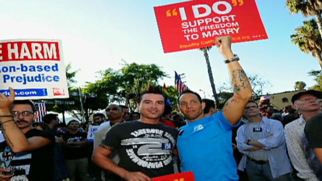 Gay marriage weakens family values