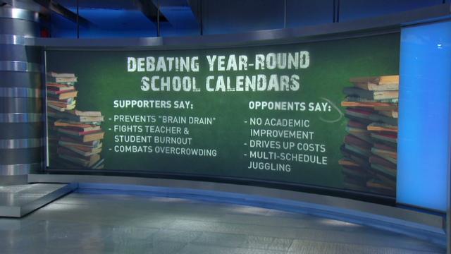Year-Round v 9-month schooling