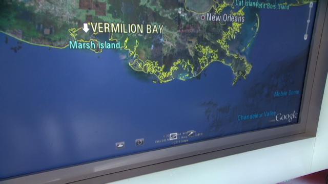Fire out, no sheen visible at Gulf oil platform - CNN com