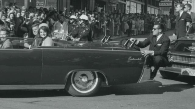 John F Kennedy Shot By Secret Service Car Behind Him
