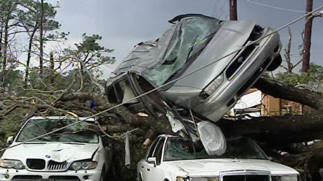 tornado pics nc. Tornado near N.C. capital