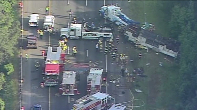 DOT: Bus firm in Virginia crash tried to resume operations