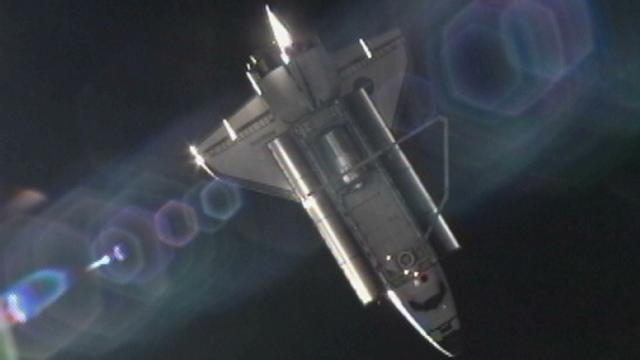 El Atlantis se desacopla de la Estación Espacial