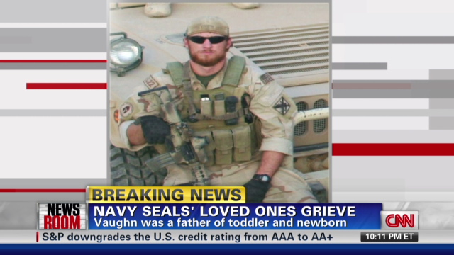 (CNN) -- Navy SEAL Aaron Carson Vaughn,killed in insurgent Bin laden retaliation attack