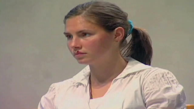 amanda knox trial evidence. Video: Knox trial continues