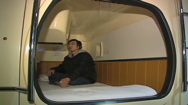 Japan's capsule hotels now coffin-sized homes - CNN com