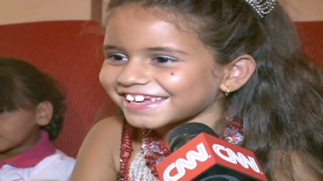 BBC News - Seven-year-old girl is Rio carnival queen