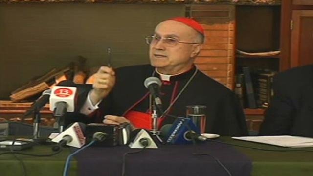 Cardinal bertone homosexuality