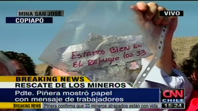 chilean mine persuasive communication Tragedy in chilean mine daniel h cox bcom/275 11/26/2012 rhonda waters knowing your audience to know your audience is what every company and personal communication is about, without an idea of your potential audience, your communication will not be received properly.