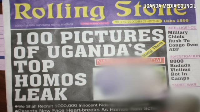 gays Uganda