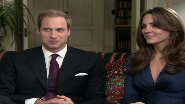 william and kate engagement interview. William and Kate laugh and tease in first post-engagement interview .