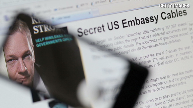 WikiLeaks reveals key U.S. locations